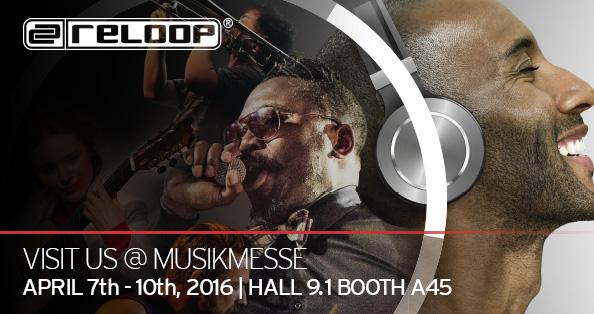 RELOOP @ MUSIKMESSE 2016